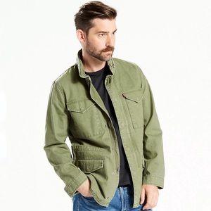 Levi's Field Utility Army Green Men's Denim Jacket